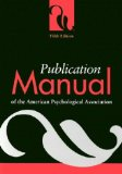 Cover: American Psychological Association - Publication Manual of the American Psychological Association